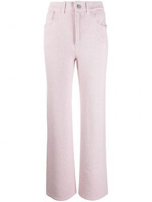 Брючные розовые свободные брюки свободного кроя с высокой посадкой Barrie