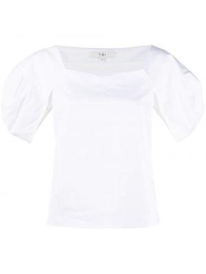 Biała bluzka bawełniana Tibi
