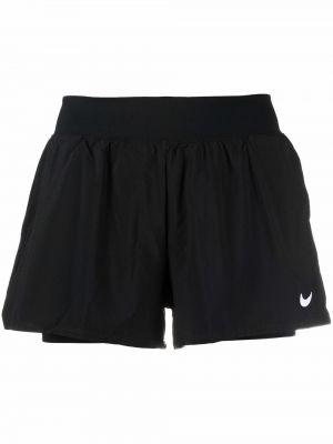 Черные шорты с логотипом Nike