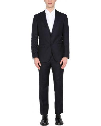 Czarny garnitur slim Boss