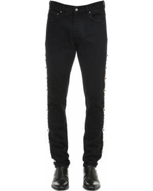 Czarne jeansy srebrne Htc Los Angeles