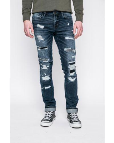 Джинсы-скинни с заниженной талией на пуговицах Guess Jeans