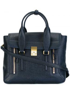 Niebieska torebka skórzana 3.1 Phillip Lim