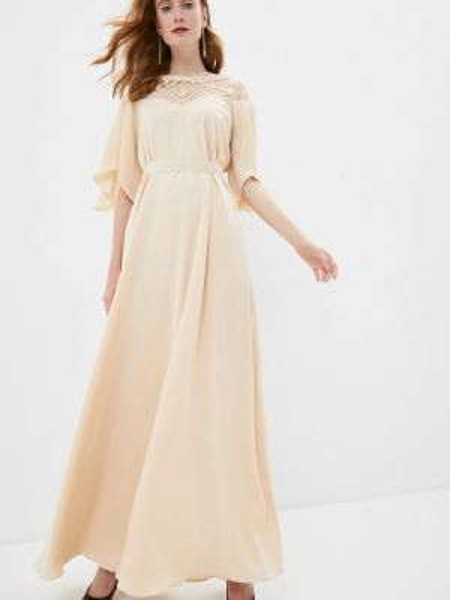 Свадебное платье - бежевое Seam