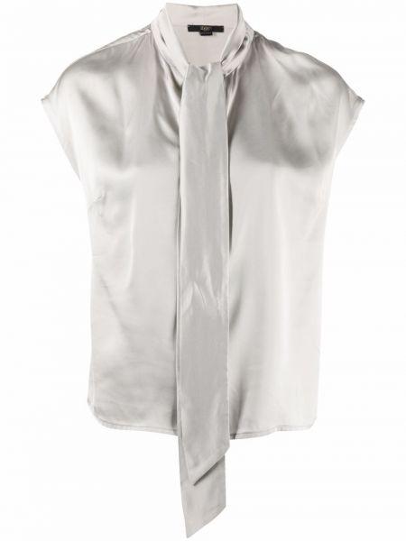 Серая блузка из вискозы Seventy