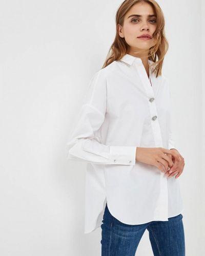 Белая блузка с длинным рукавом River Island
