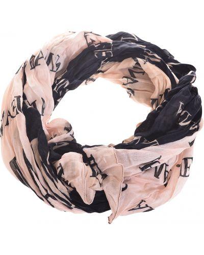 Черный шарф Armani Jeans