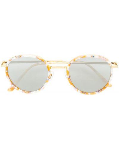Бежевые солнцезащитные очки Gentle Monster
