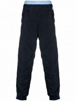 Спортивные брюки из полиэстера - синие Boss Hugo Boss