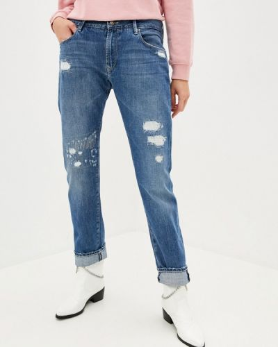 Синие джинсы бойфренды Rifle