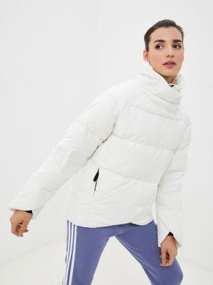 Пуховик - белый Adidas