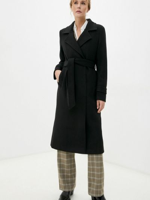 Пальто - черное Marco Bonne