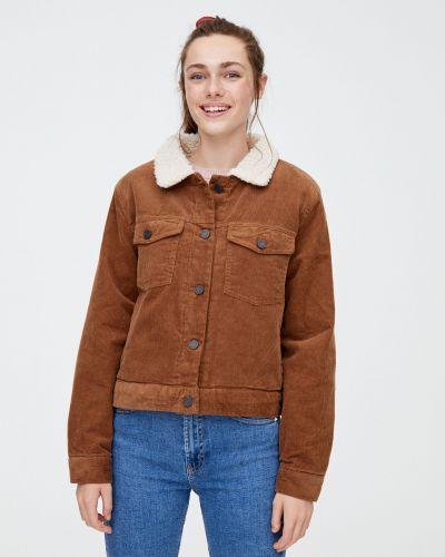 Куртка с медведем Pull & Bear