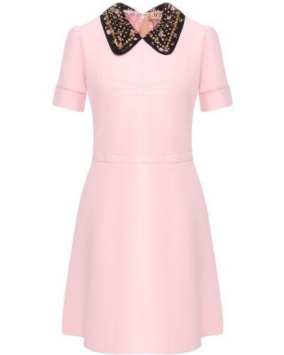 Платье со стразами - черное No. 21