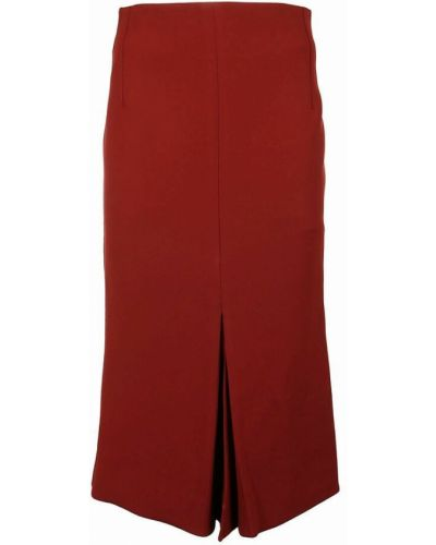 Spódnica - czerwona Victoria Beckham