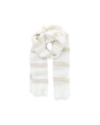 Белый шарф Eleventy