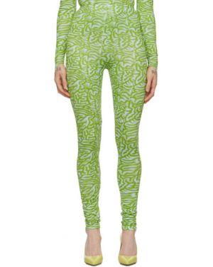 Леггинсы зеленый с высокой талией Maisie Wilen