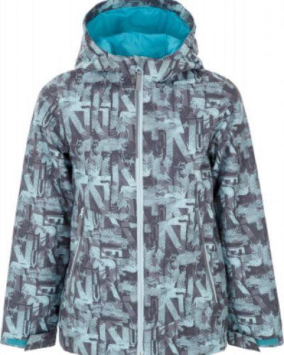 Куртка с капюшоном укороченная спортивная с мехом Outventure