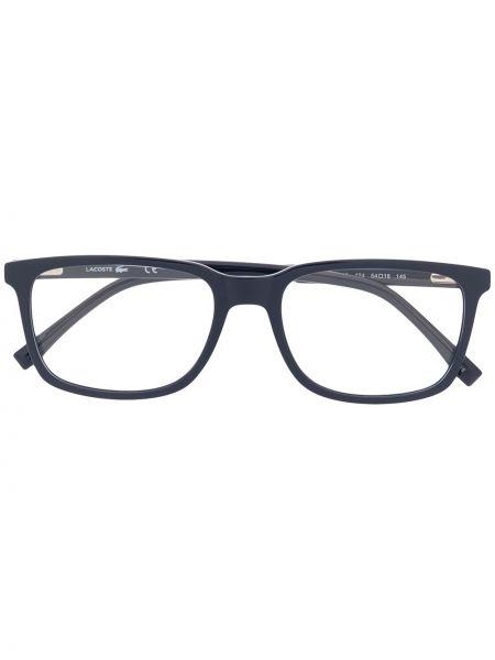Oprawka do okularów plac khaki za pełne Lacoste