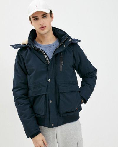Утепленная синяя короткая куртка Haily's