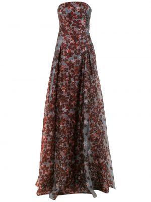 Шелковое платье - серое Tufi Duek