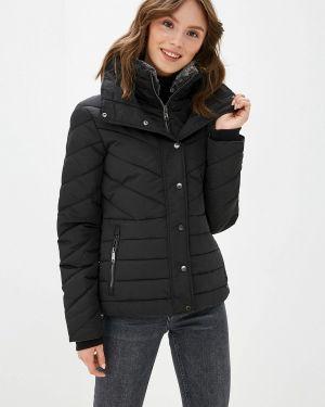 Утепленная куртка демисезонная черная Tom Tailor