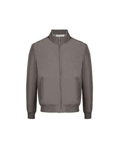 Серая куртка Enrico Mandelli