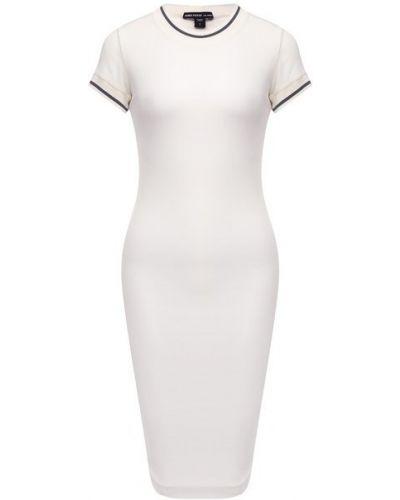 Хлопковое белое платье с подкладкой James Perse