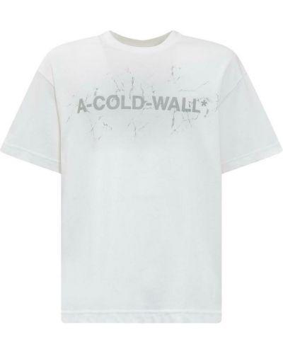 Biała t-shirt A-cold-wall*