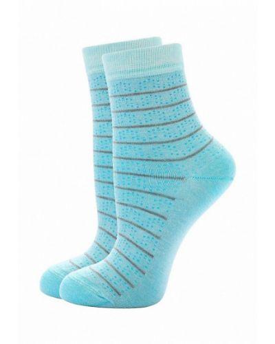 Бирюзовые носки Conte Elegant