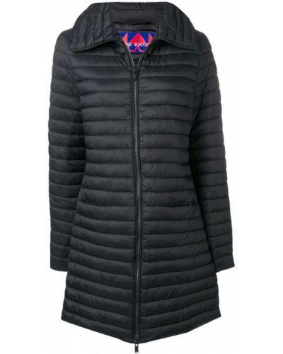 Черное пальто с капюшоном Moose Knuckles