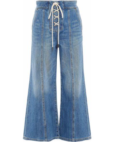 Niebieskie mom jeans Zimmermann