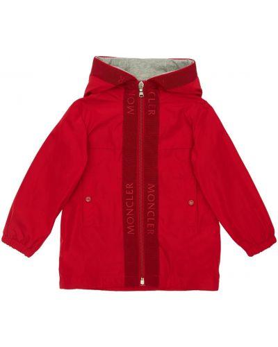 Z rękawami bawełna bawełna kurtka Moncler