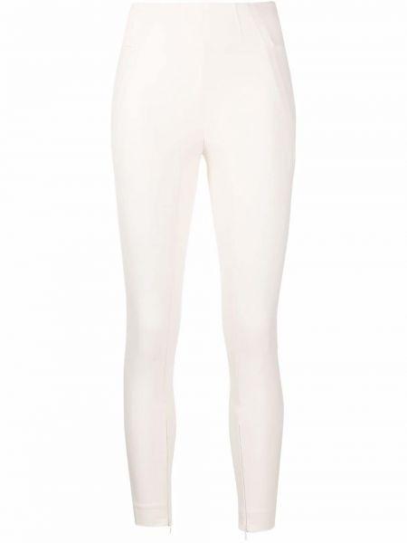 Укороченные брюки - белые By Malene Birger