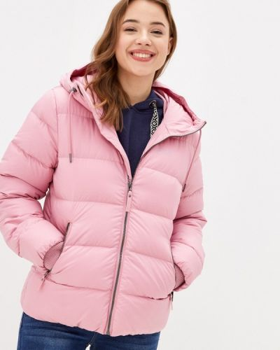 Розовая теплая куртка Jack Wolfskin