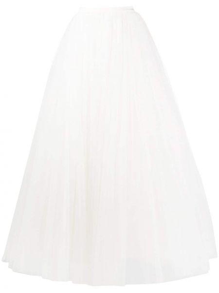 Шелковая юбка с высокой посадкой Alberta Ferretti