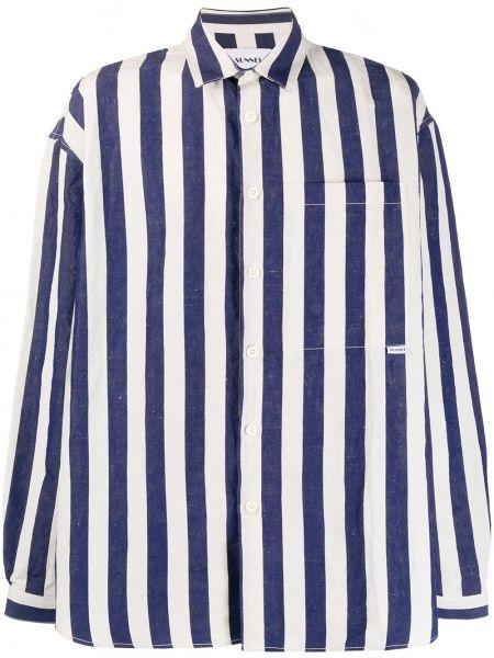 Koszula z długim rękawem w paski z paskami Sunnei