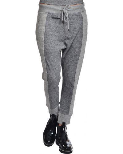 Спортивные брюки серые Dsquared2