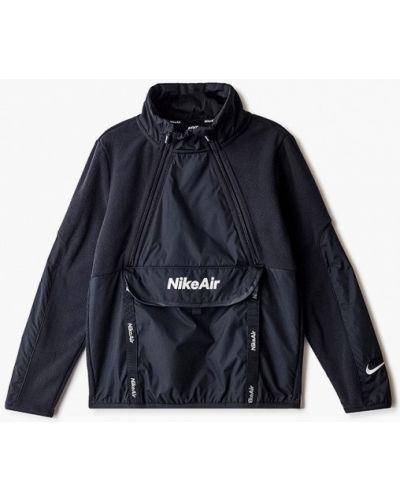 Черная олимпийка Nike