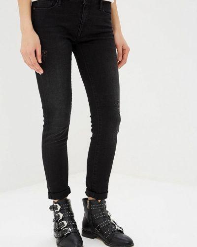 Зауженные джинсы - черные Rifle