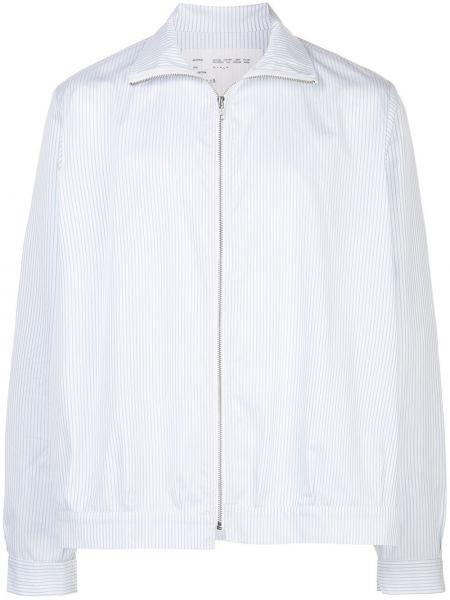 Белая куртка с манжетами Camiel Fortgens