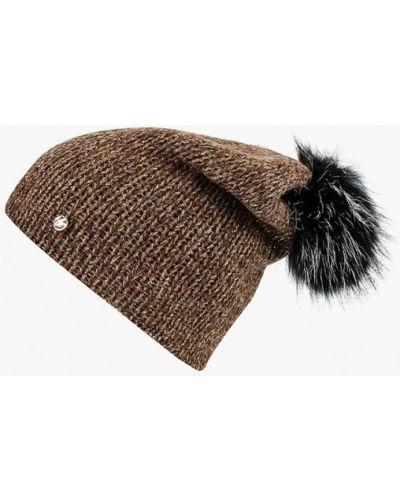 Коричневая шапка осенняя Fabretti