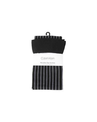 Черные чулки Calvin Klein