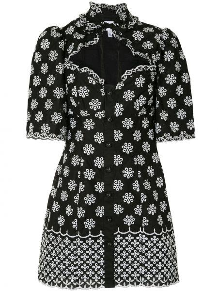 Платье мини на пуговицах с рукавами Alice Mccall