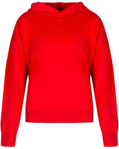 Czerwona bluza z kapturem Juicy Couture