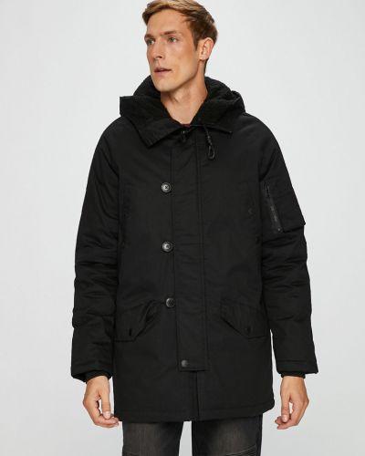 Утепленная куртка с капюшоном прямая Medicine
