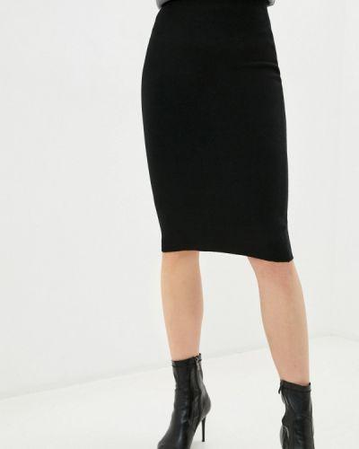 Черная юбка узкого кроя снежная королева
