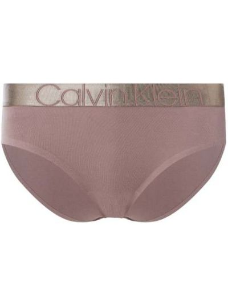 Różowe slipy bawełniane Calvin Klein Underwear