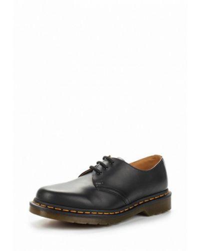 Кожаные сапоги на каблуке на каблуке Dr. Martens