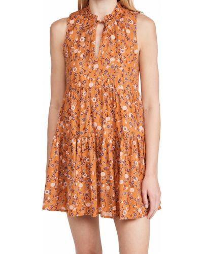 Платье без рукавов с декольте с подкладкой Bb Dakota